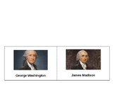 George Washington & James Madison Foldable SOL VS.6a
