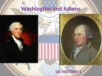 George Washington/ John Adams PowerPoint