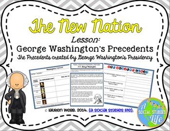 George Washington and John Adams UNIT BUNDLE with BONUS card sets