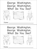 George Washington Kindergarten Emergent Reader- President's Day