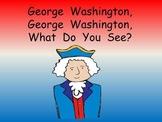 George Washington Kindergarten Shared Reading- President's Day