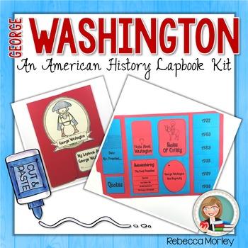 George Washington Lapbook Kit