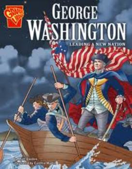 George Washington - Leading a New Nation (Graphic Novel)