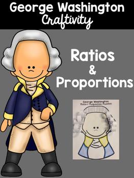 George Washington Math Craftivity - Ratios and Proportions
