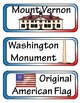 George Washington Mini Research Fold-Ems, Word Wall, & Wri