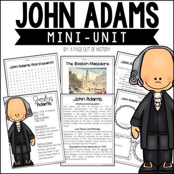 John Adams Biography Pack