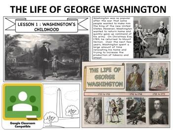 George Washington - Mini Unit