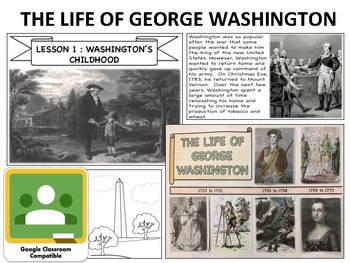 George Washington - Mini Unit