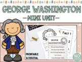 George Washington Mini Unit (Printable & Digital)