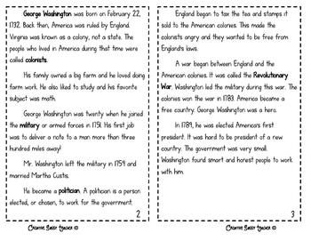 George Washington Minibook