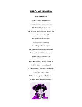 George Washington Poetry