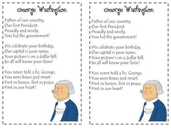 George Washington Poetry Pack