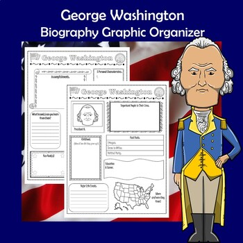 George Washington President Biography Research Graphic Organizer