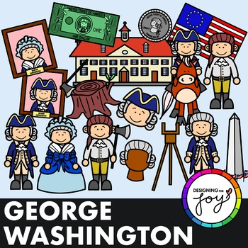 George Washington President's Day Clip Art