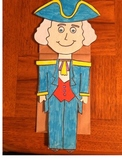 George Washington Puppet for President's Day