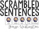 George Washington Scrambled Sentences