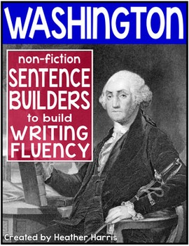 George Washington Sentence Builders