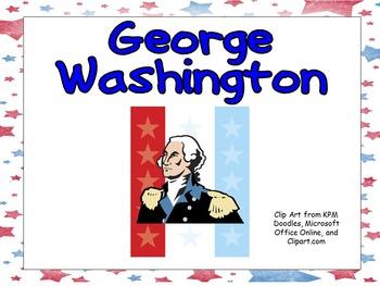 George Washington- Shared Reading Kindergarten and First G