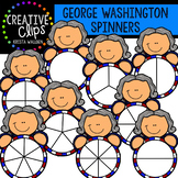 George Washington Spinners {Creative Clips Clipart}