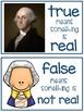 George Washington - True or False
