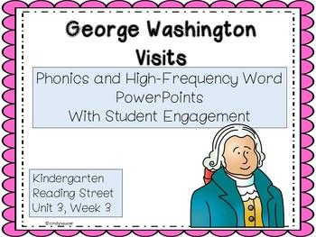 George Washington Visits, PowerPoint, Kindergarten Unit 3, Week 3