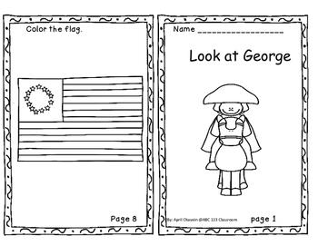 George Washington Visits: Print and Go Unit 3 Week 3 Reading Street Kindergarten