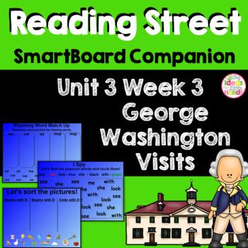 George Washington Visits SmartBoard Companion Kindergarten
