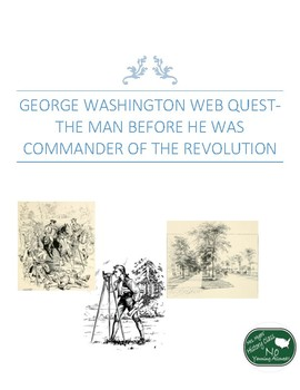 George Washington Web Quest-The Man before he was Commander of the Revolution