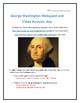 George Washington- Webquest and Video Analysis with Key