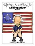 George Washington Writing Sheets [freebie]