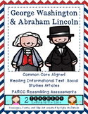 PARCC like Assessment: George Washington and Abraham Lincoln
