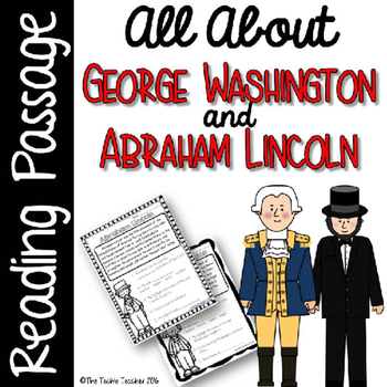 George Washington and Abraham Lincoln Reading Passages