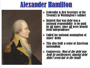 George Washington and John Adams' Presidencies PowerPoint