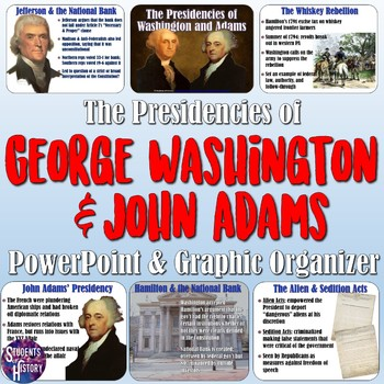 George Washington and John Adams' Presidencies PowerPoint