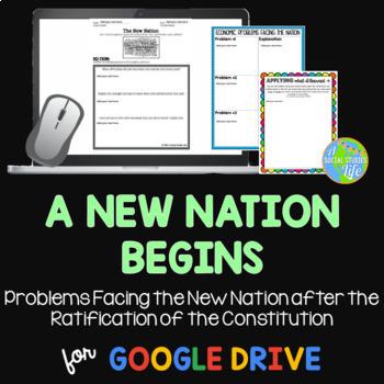George Washington John Adams Problems Facing the New Nation