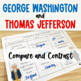 George Washington and Thomas Jefferson Compare and Contras