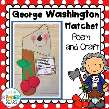 George Washington and the Cherry Tree Craft Presidents Day