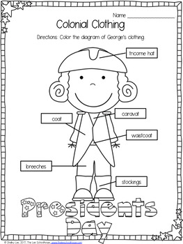 George Washington and the Cherry Tree for First Grade