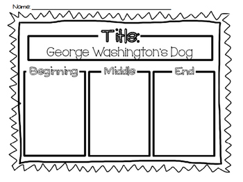 George Washington and the General's Dog.  41 pgs common core activities