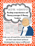 George Washington fluency and comprehension leveled passages