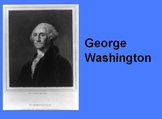 George Washington  for  first and second  grade
