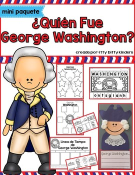 George Washington, Presidents Day in SPANISH