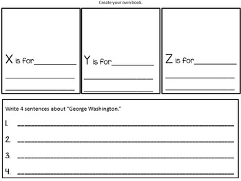 George Washington's    ABC Book