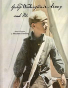 George Washington's Army and Me paperback