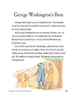 George Washington's Barn