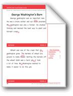 George Washington's Barn (Gr. 2/Week 17)