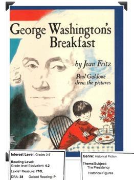 George Washington's Breakfast by Fritz Lesson Plan