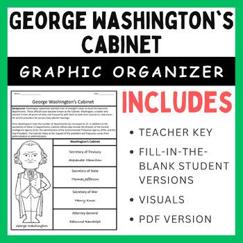 Washington Cabinet Worksheets Teaching Resources Tpt
