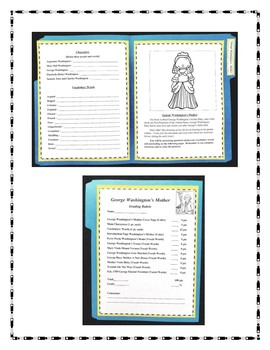 George Washington's Mother Lapbook and Book Report