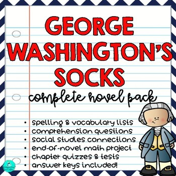 George Washington's Socks Novel Pack